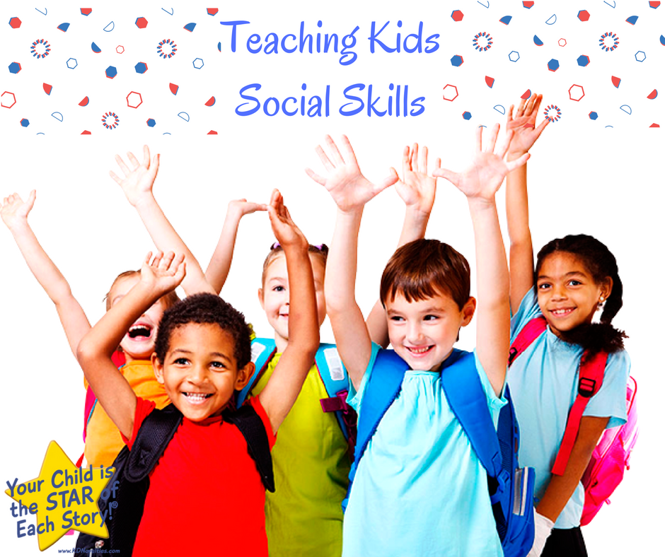 Kids Who Need Help With Social Skills >> Teaching Kids Social Skills Personalized Children S Books