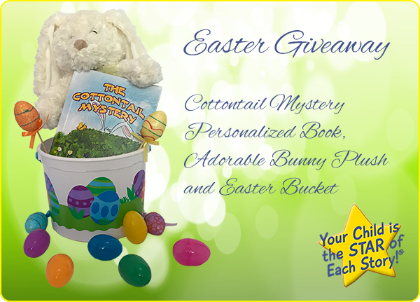 Easter personalized books personalized childrens books while the focus of gift giving holidays may take place in winter however the spring has its fair share of things to celebrate for many people easter is negle Choice Image