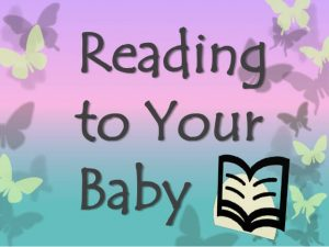Reading personalized baby books