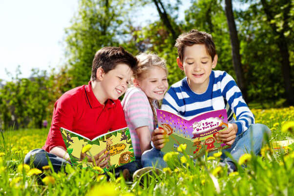 Kids Reading Personalized Children's Books