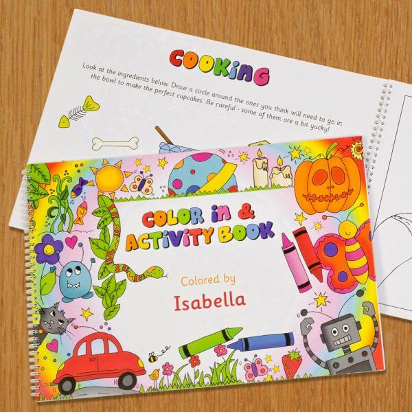 Benefits of Personalized Coloring Books